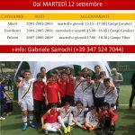 Orari Scuola Calcio 2017-18 La Scuola Calcio Tiber è più di uno sport: è una scuola di amicizia, di impegno e costanza, di lavoro in squadra, ha un forte risvolto formativo.